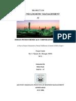 Outbound Logistic Management