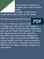 Reyes Magos Curso 2013-14