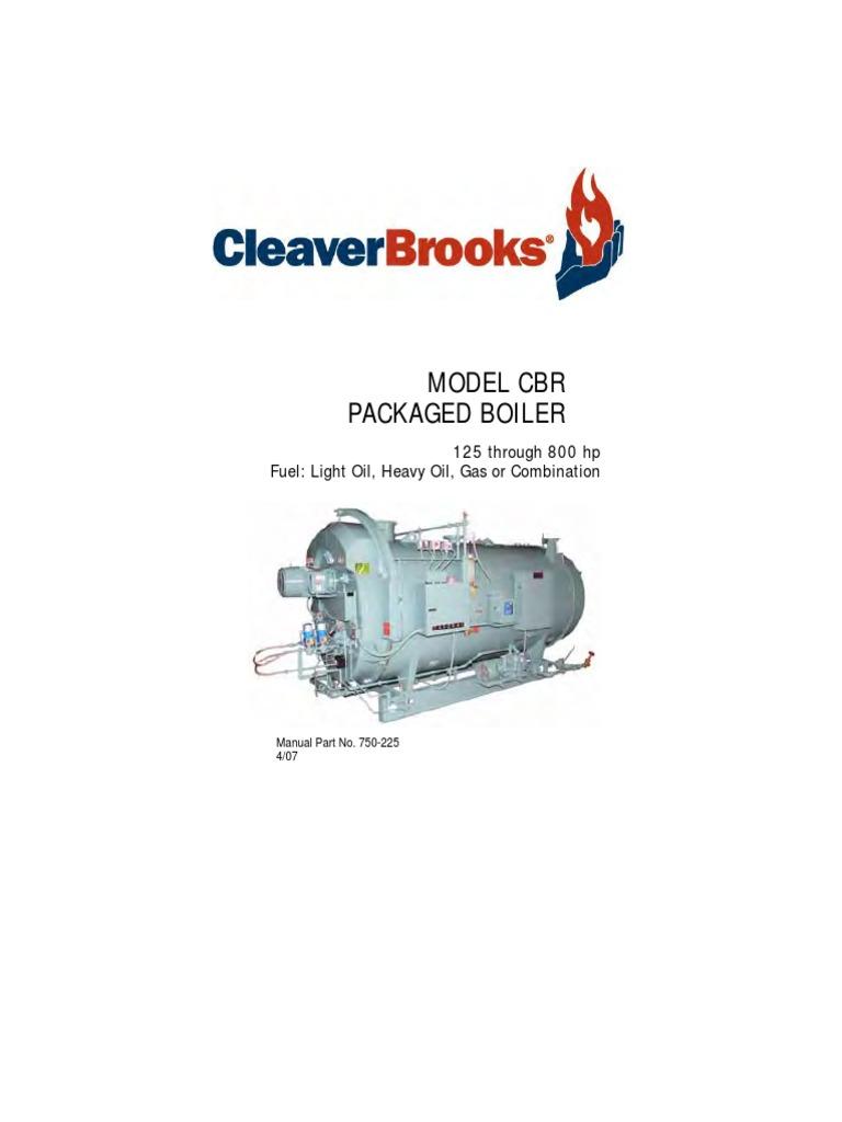 750 225 Om Modelcbr 125 800hp Apr07 Boiler Exhaust Gas Maxon Bmraw 44 Wiring Diagram
