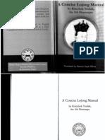 5th Shamarpa - Concise Lojong Manual