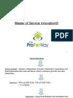 Master of Service Innovation©
