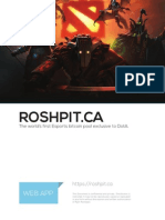 Roshpit Proposal