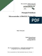 Petunjuk Praktikum-Mikrokontroller AT89Sxx Trainer Kit
