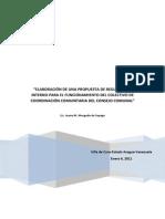 Propuesta Reglamento Interno Funcionamiento Del Consejo Comunal (1)