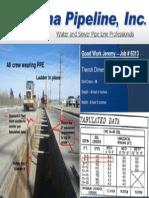 Kana Pipeline Safety on Job