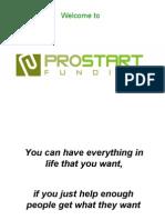 ProStart Funding Presentation June 2009 (1)