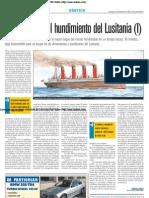 La tragedia del hundimiento del Lusitania (I)