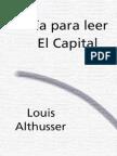 Althusser, Louis - Guía para leer El capital (1969).pdf