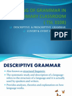 Teaching of Grammar in the Primary Classroom g3