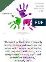 Basic Principles of Leadership