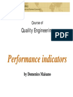 Theory for performance Indicators