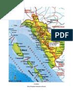 Gambar Peta Propinsi Sumatera Barat