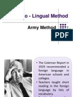 Audiolingual Method