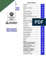 2002 Eclipse Service Manual