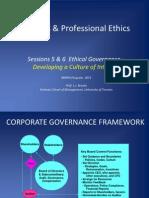 Etika Bisnis di Departemen Pemerintahan