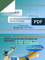 Fiberlogic CarrierEthernet 842 5300 Presentation