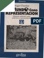 Chartier Roger El Mundo Como Representacion_mitad Dl Lbro