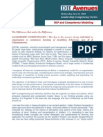 NLP and Competency Modeling
