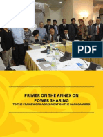 Primer on the Annex on Power Sharing