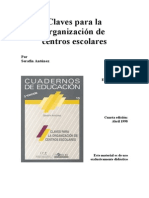 ANTUNEZ-Serafin Claves Para La Educ. de Los Centros Escolares