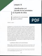 AQUINO, MIRTHA, LA PLANIFICACIÓN DE LA ACCIÓN EDUCATIVA 1999