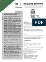 Raymarine DST-800 Installation Guide