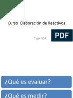 Curso de Elaboracion de Reactivos
