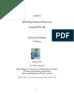 CHE654 Problems 2012