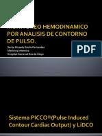 Monitoreo Hemodinamico Por Analisis de Conteo de Pulso