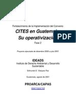 Implementacion Convenio Cites en Guatemala
