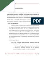 Curriculum Manage System Chapter i i i