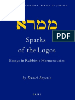 Boyarin Daniel Sparks of the Logos