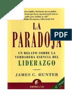 Libro - James C. Hunter -  La Paradoja.pdf