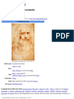 Leonardo Da Vinci - Wikipedia, The Free Encyclopedia