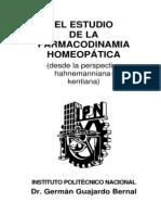 farmacodinamia homeopatica comparada
