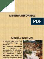 Mineria Informal Diapositivas