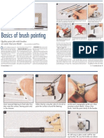Basics of Brush Painting