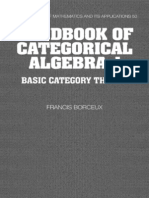 Handbook of Categorical Algebra 1