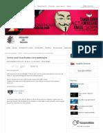 Governo usará Forças Armadas contra manifestações - Anonymous Brasil
