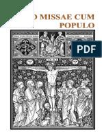 Ordinario de La Misa en Latin