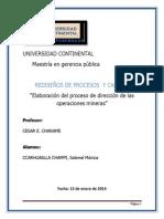 REDISEÑOS DE PROCESOS Y CALIDAD