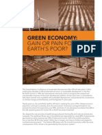 IBON Policy Brief Green Economy 2011