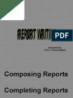 Report Writing -