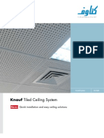 Knauf Ceiling Tiles Brochure