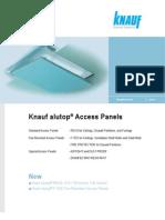 Knauf Alutop Technical Datasheet