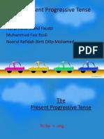 The Present Progressive Tense