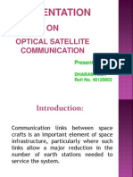 Optical Satellite Communication ECE
