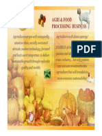 Agriculture  & Food Processing Business