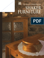 Time Life Art of Woodworking Shaker Furniture