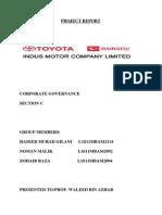 Indus Motors Corporate Governance